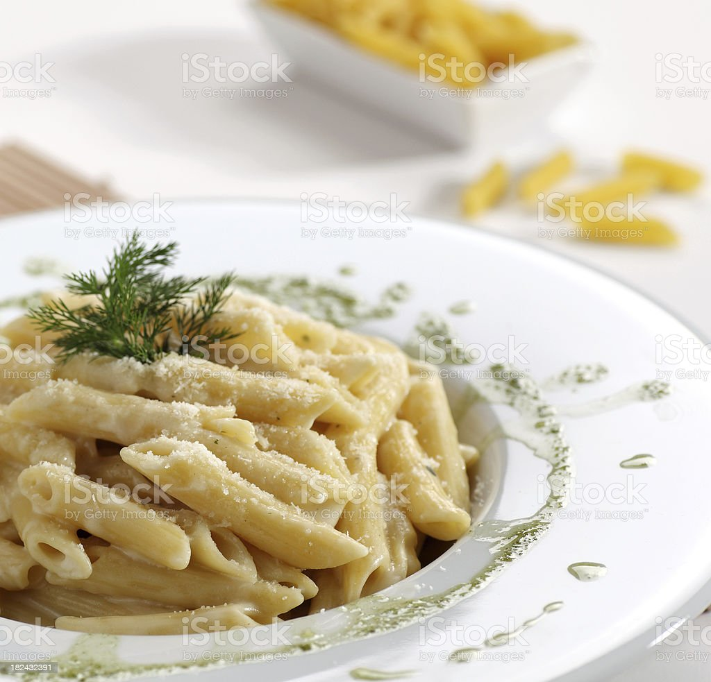Penne macaroni royalty-free stock photo