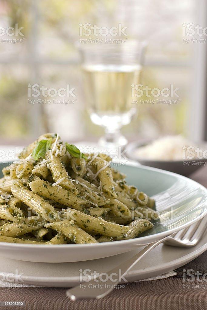 Penne pasta stock photo