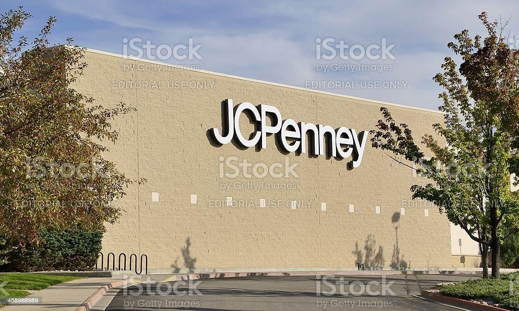 J.C. Penney royalty-free stock photo