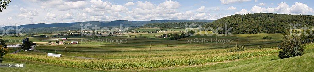 Pennsylvania Countryside - Panoramic stock photo