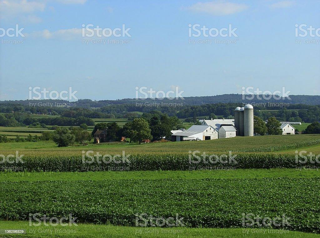Pennsylvania farm royalty-free stock photo