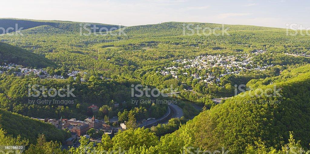 Pennsylvania Panorama stock photo