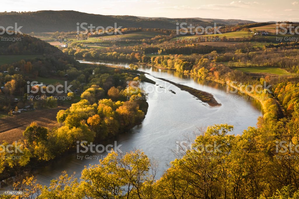 Pennsylvania valley royalty-free stock photo