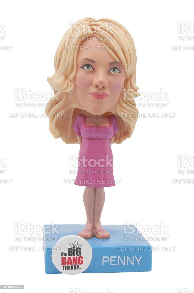 Penny Bobblehead stock photo