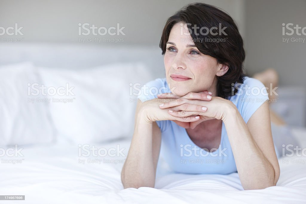 Penny for her thoughts... royalty-free stock photo