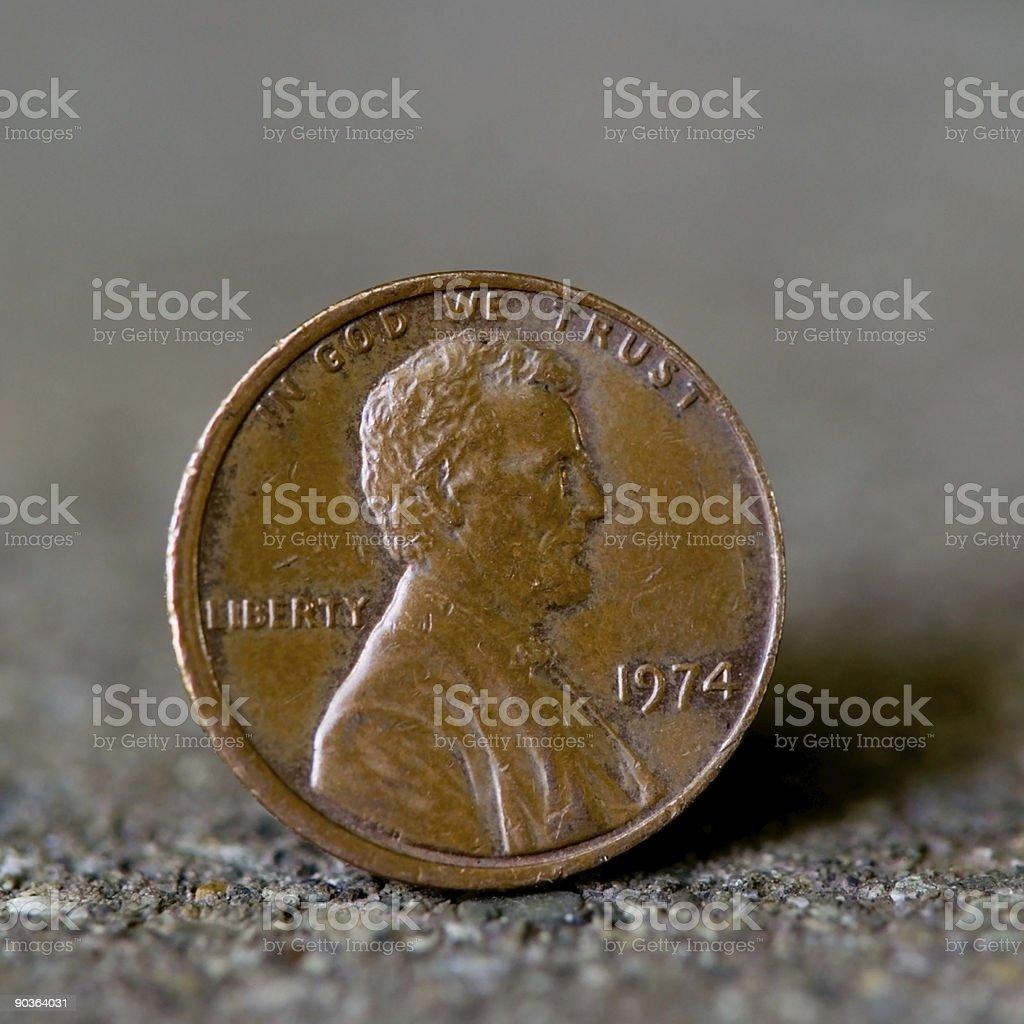 Penny Macro stock photo