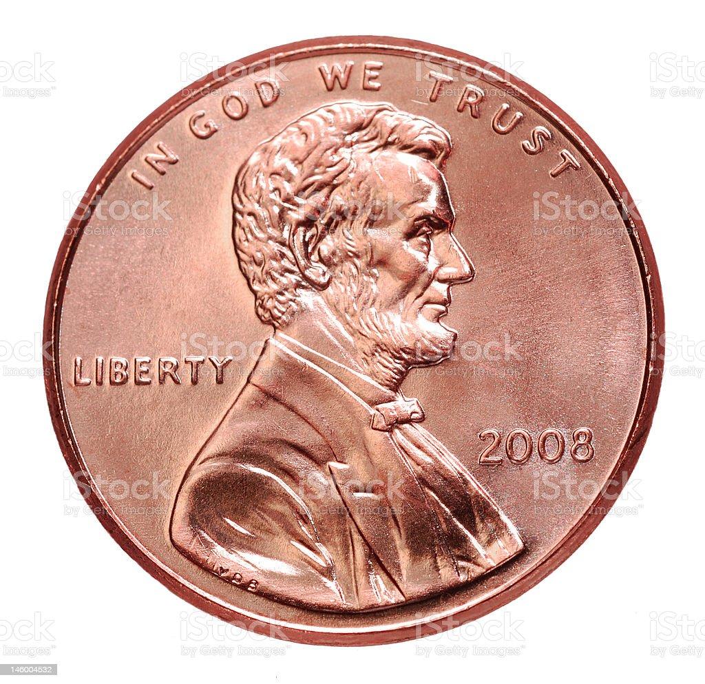 USA 2008 Penny stock photo