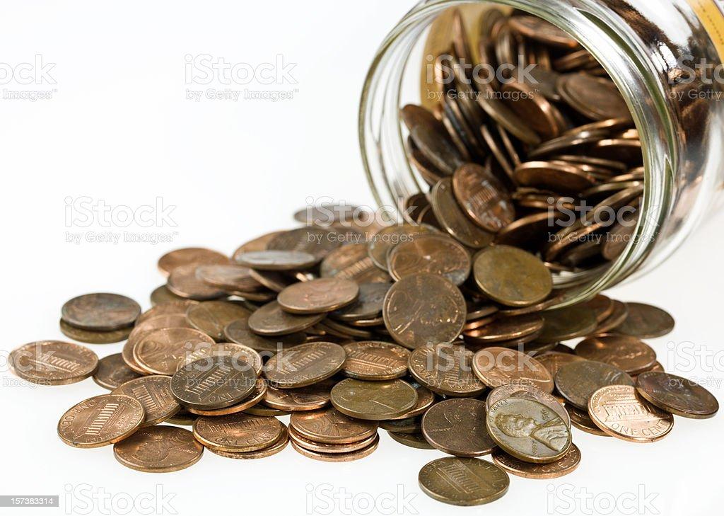 Penny saver stock photo
