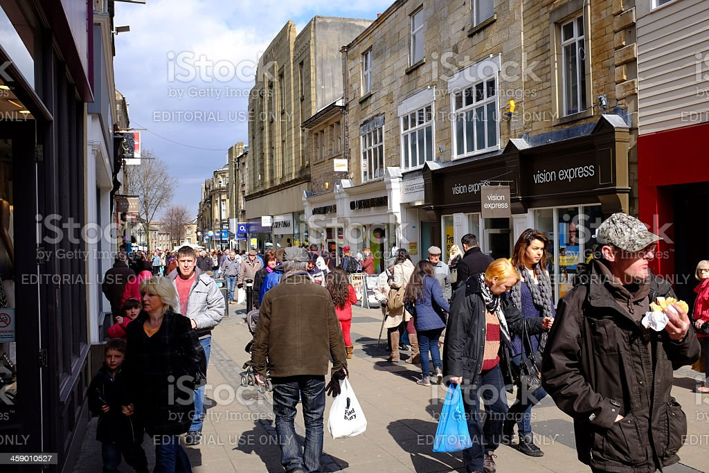 Penny Street Lancaster royalty-free stock photo
