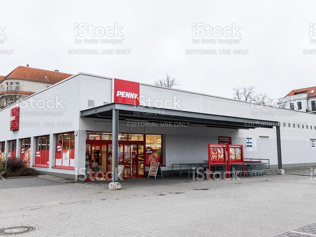 Penny supermarket at Berlin stock photo