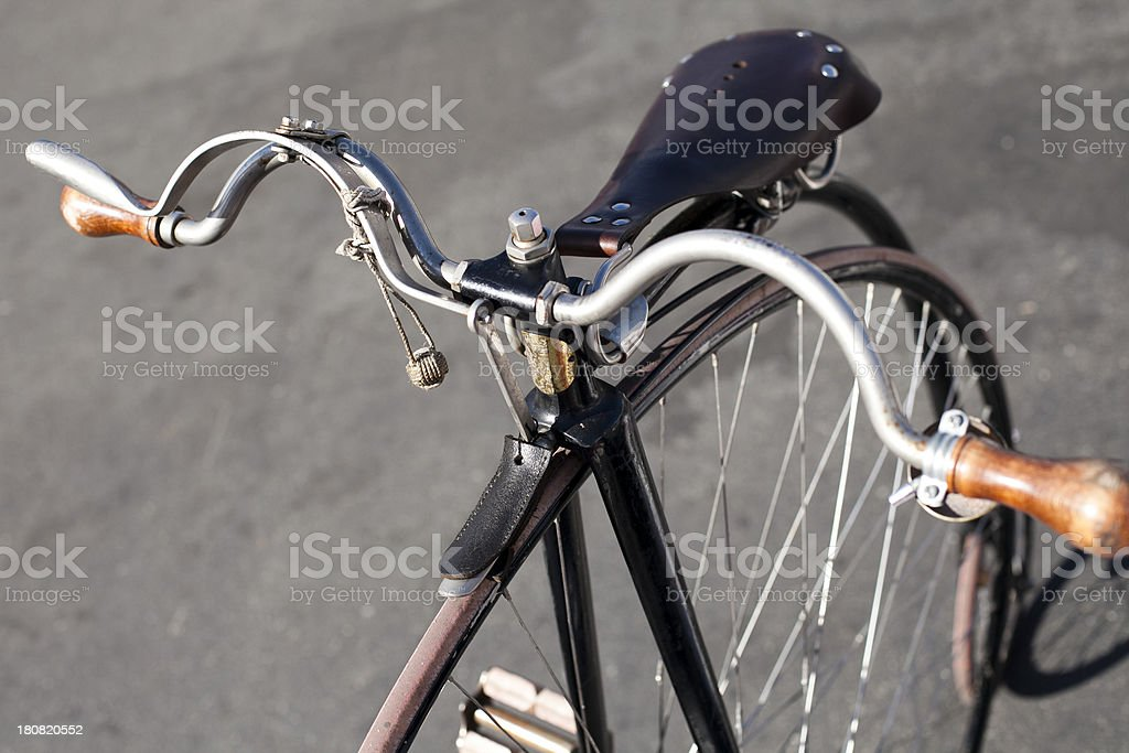 Penny-Farthing Bicycle stock photo