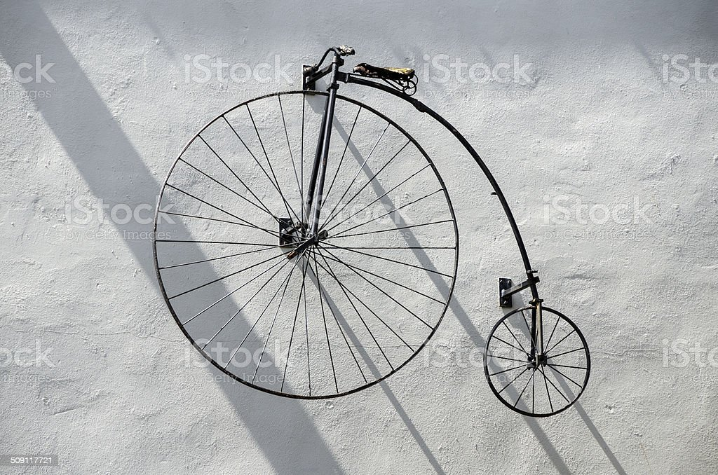 Penny-farthing Bicycle. stock photo