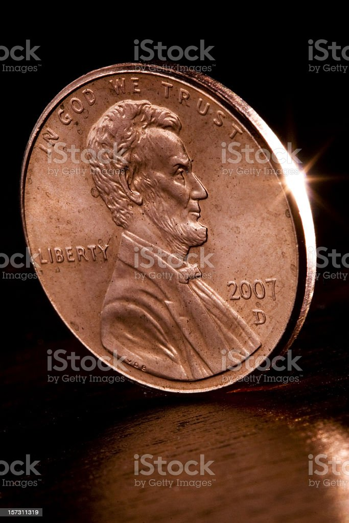 Penny-Wise stock photo