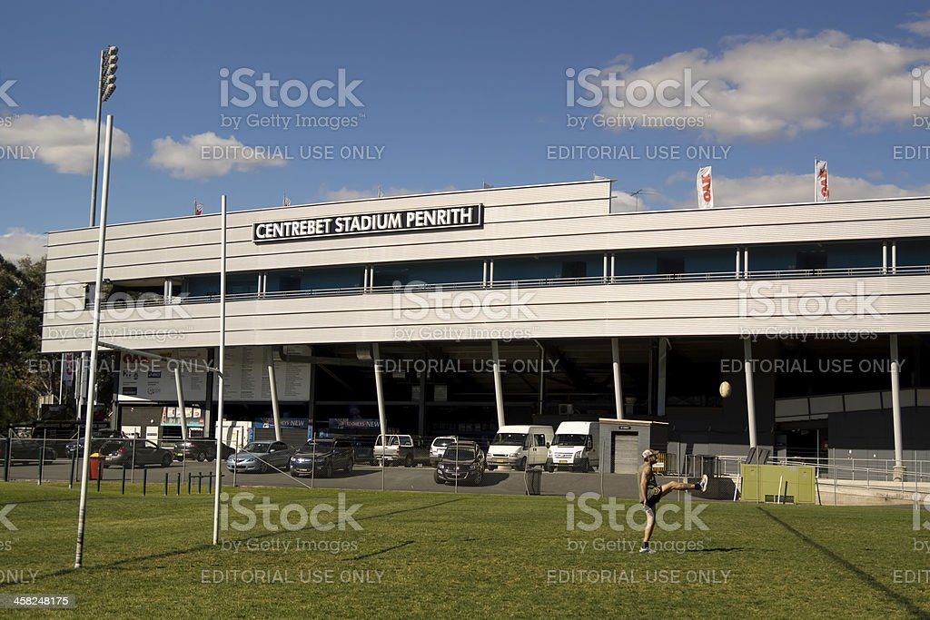 Penrith Stadium royalty-free stock photo