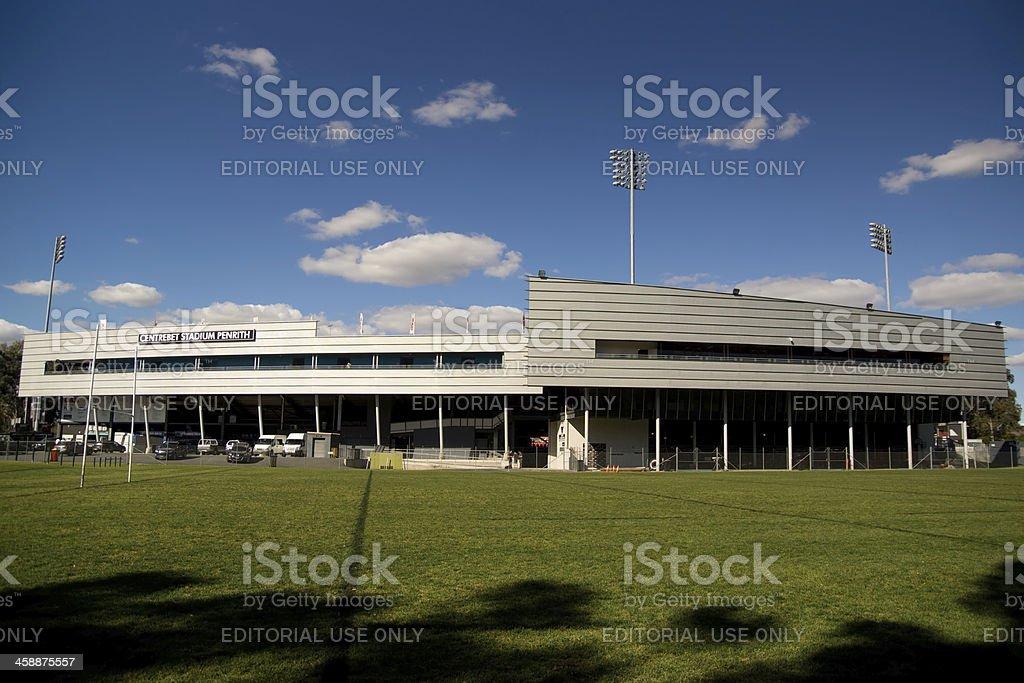 Penrith Stadium stock photo