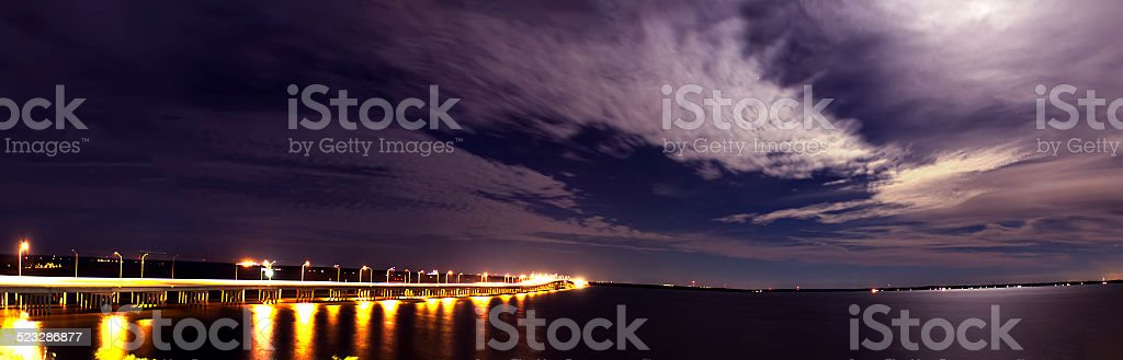 Pensacola Bay stock photo