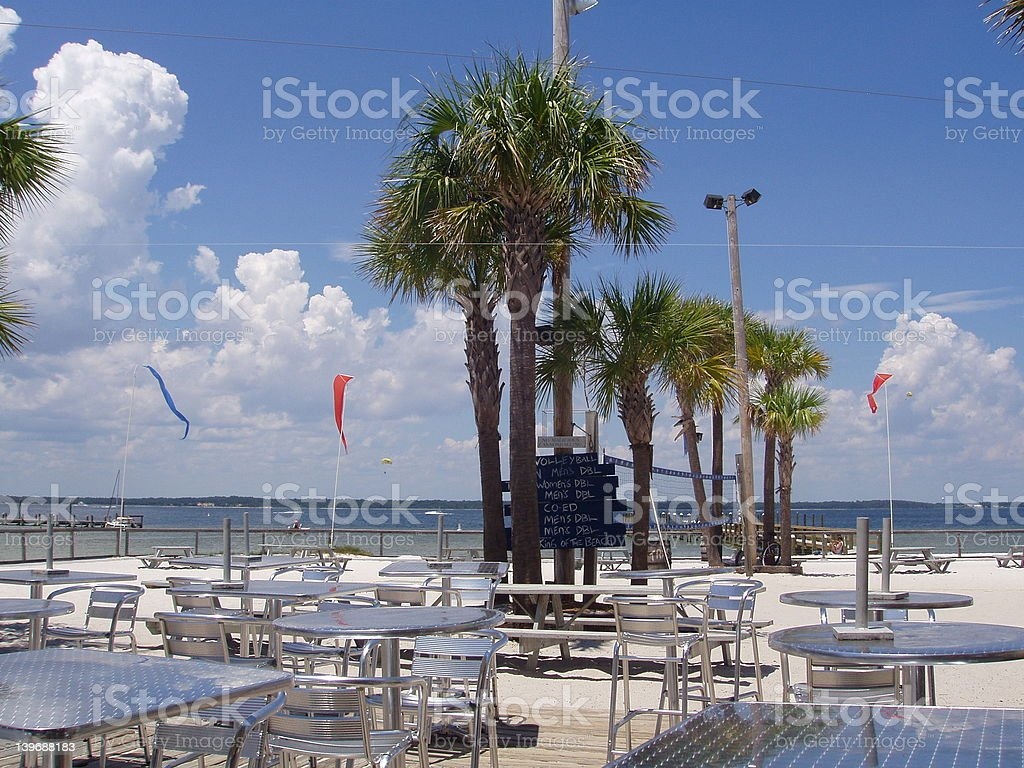 Pensacola Beach, Florida royalty-free stock photo