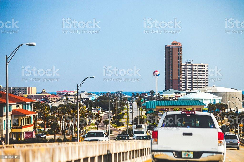 Pensacola Beach, Florida. stock photo
