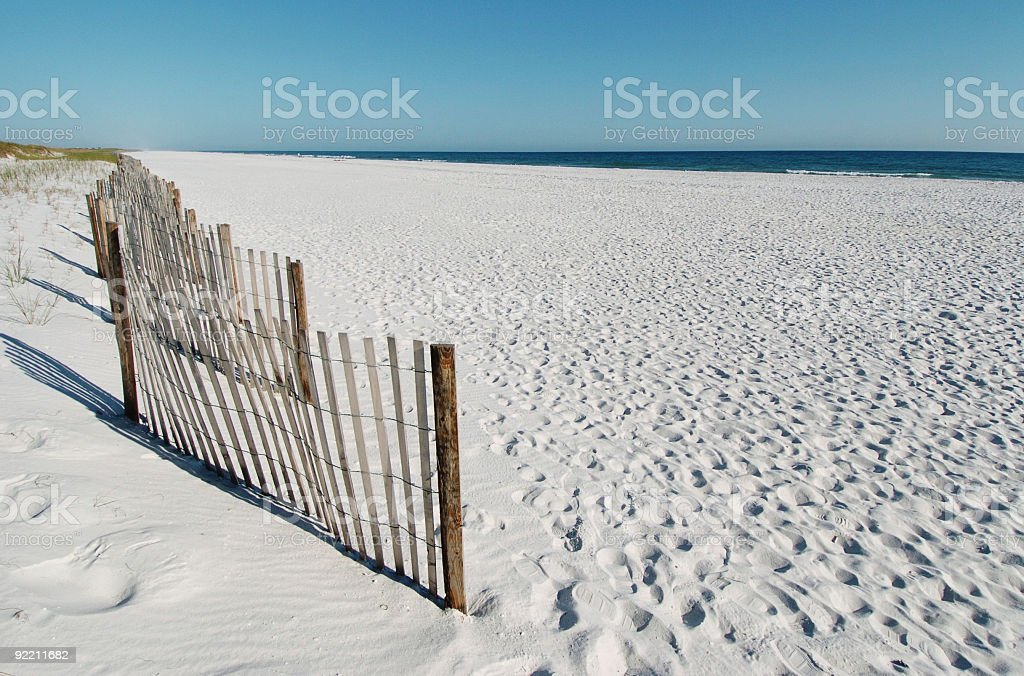 Pensacola Beach Florida stock photo