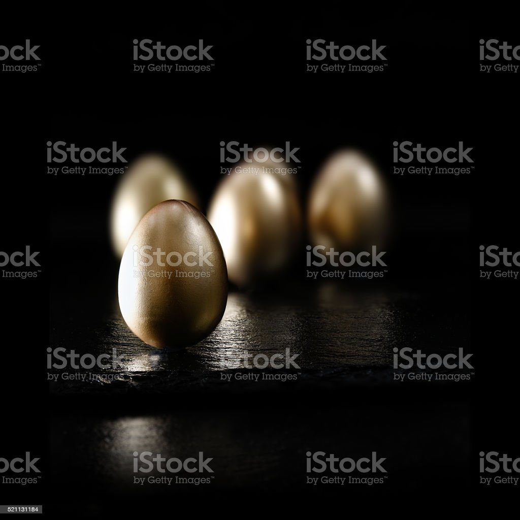 Pension Eggs Cluster stock photo