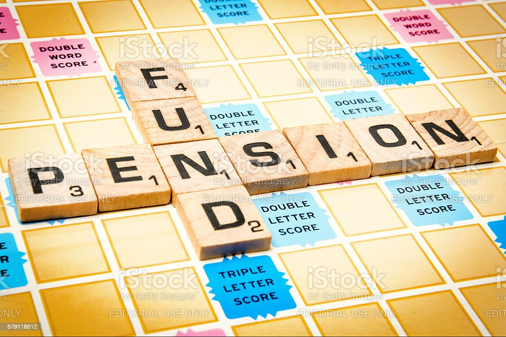 Pension Fund stock photo