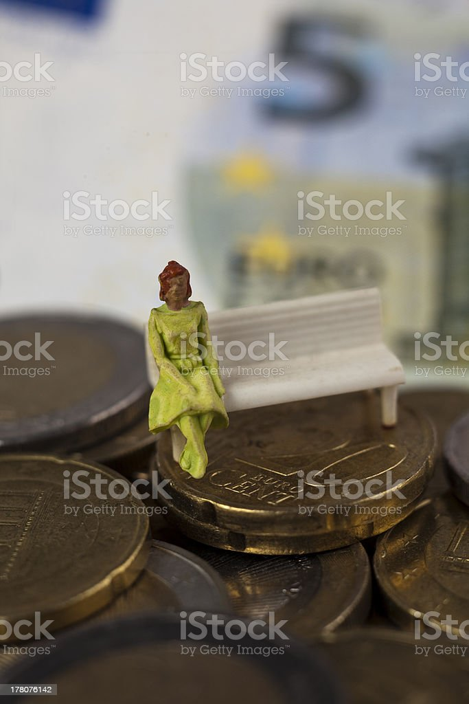 pension plan for retirement royalty-free stock photo