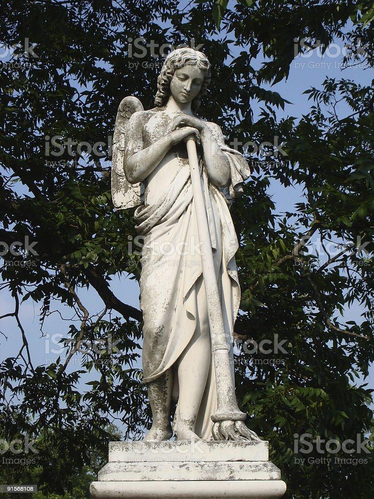 Pensive Angel royalty-free stock photo