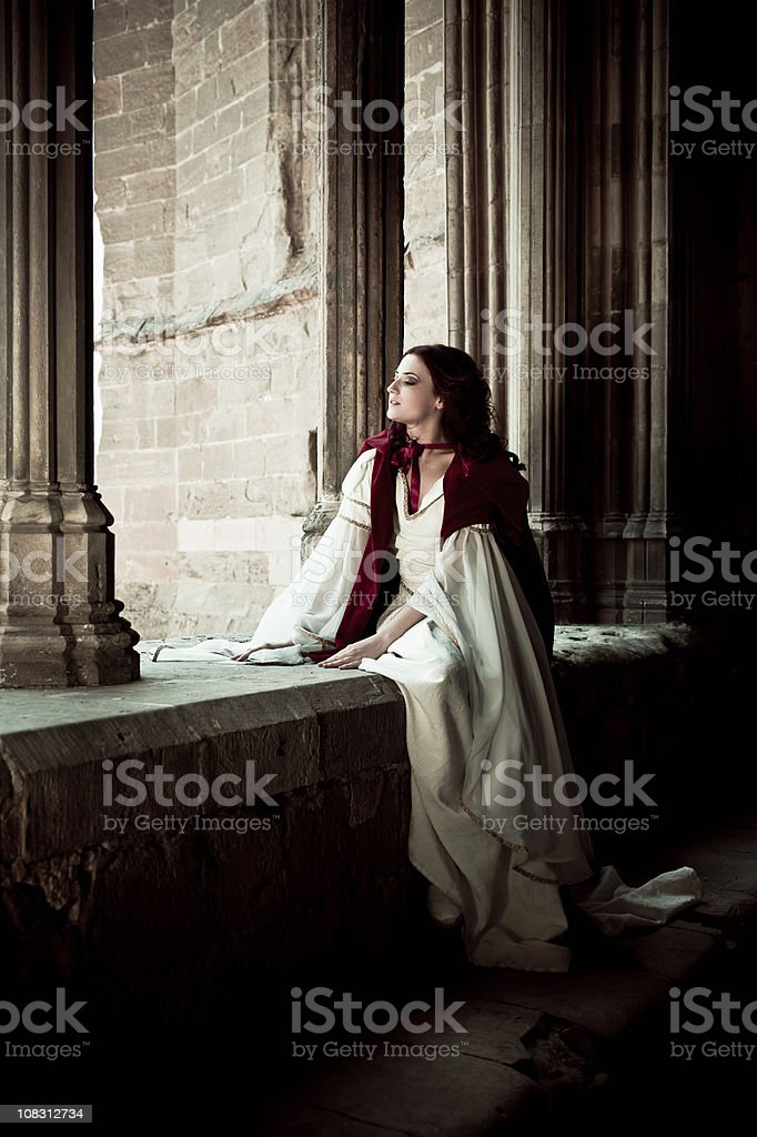 Pensive Moments stock photo