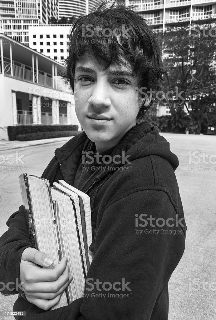 Pensive Teenager royalty-free stock photo