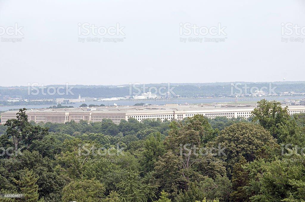 Pentagon stock photo