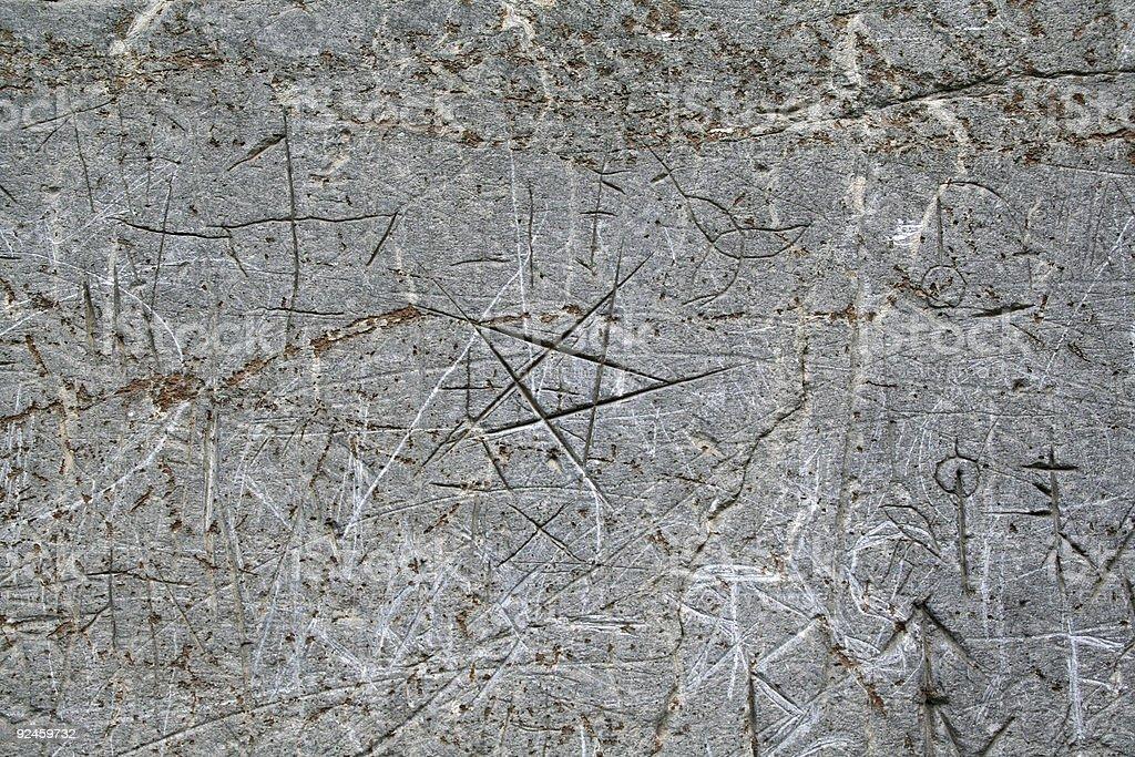 Pentagram royalty-free stock photo
