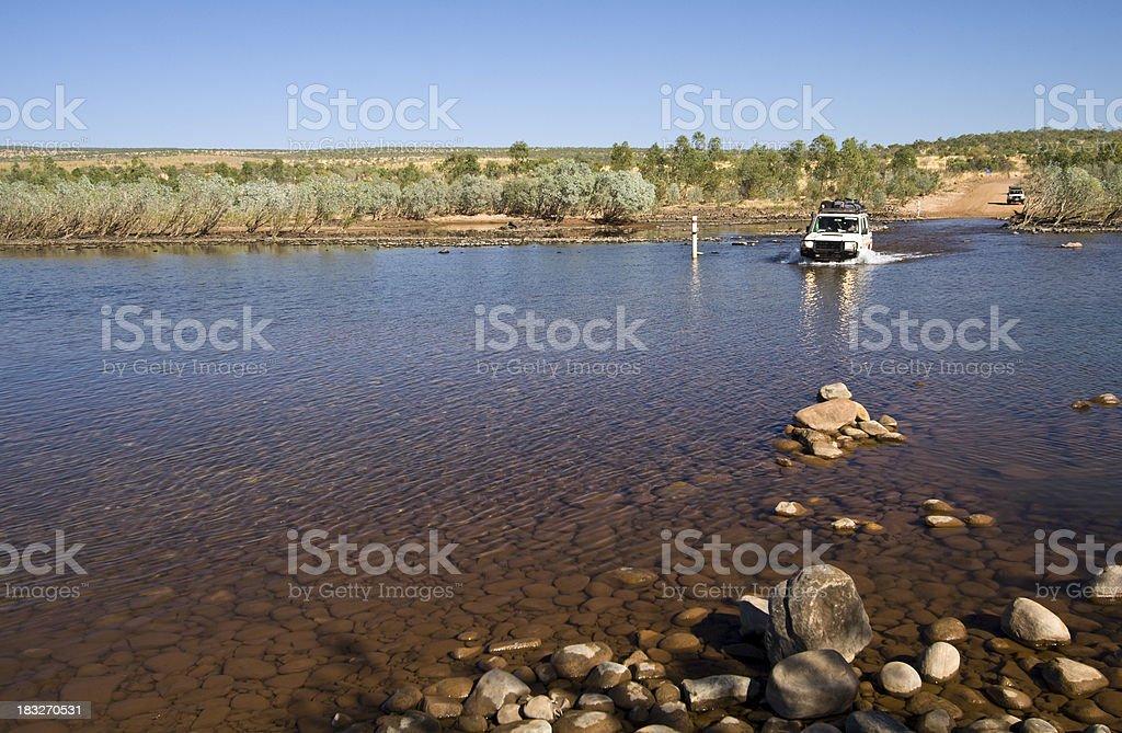 Pentecost River Crossing stock photo