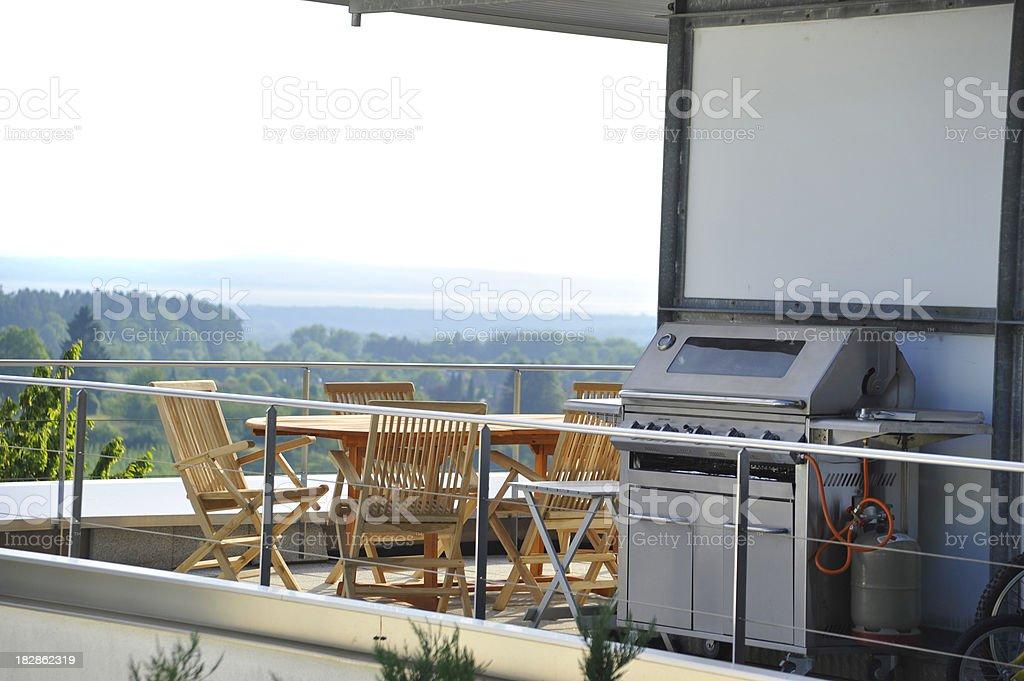 penthouse flat - Penthousewohnung royalty-free stock photo