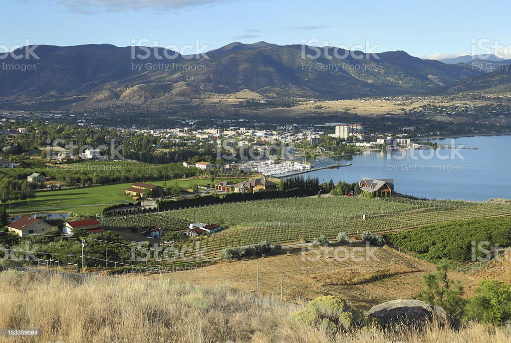 Penticton, British Columbia stock photo