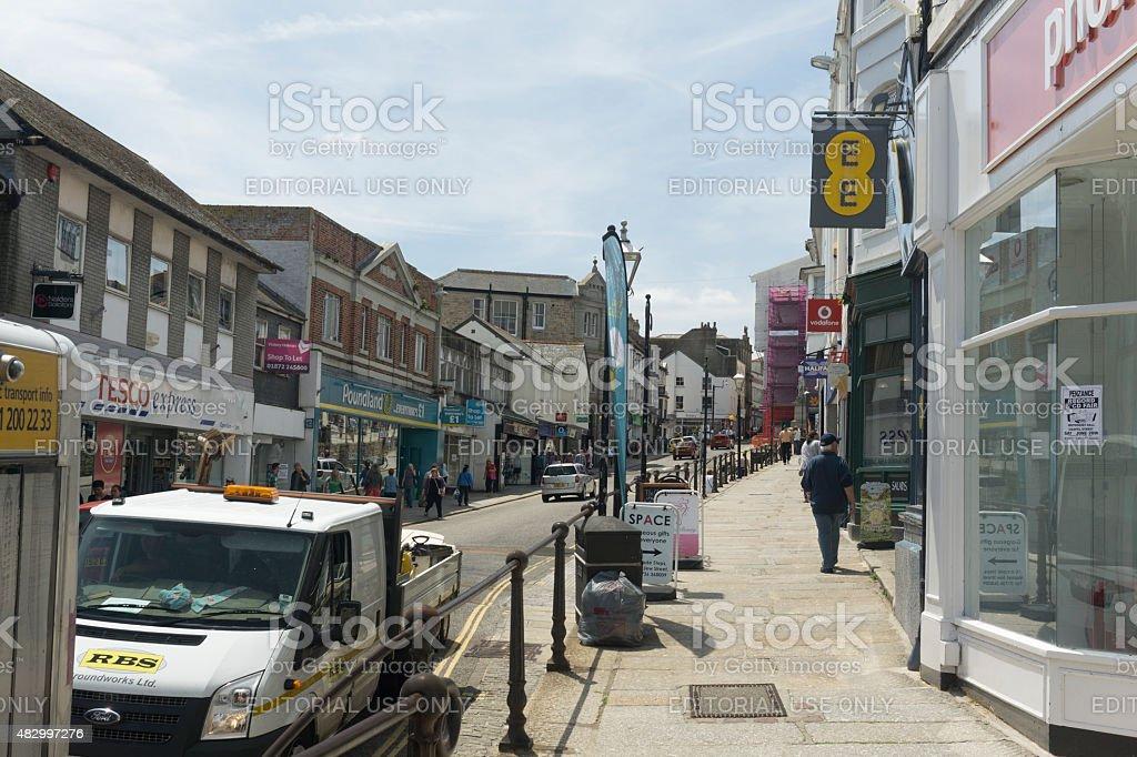 Penzance, Cornwall stock photo
