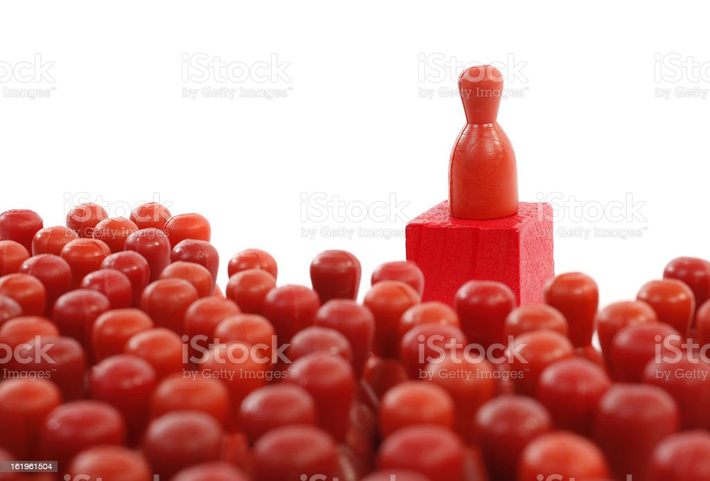 People and orator concept royalty-free stock photo