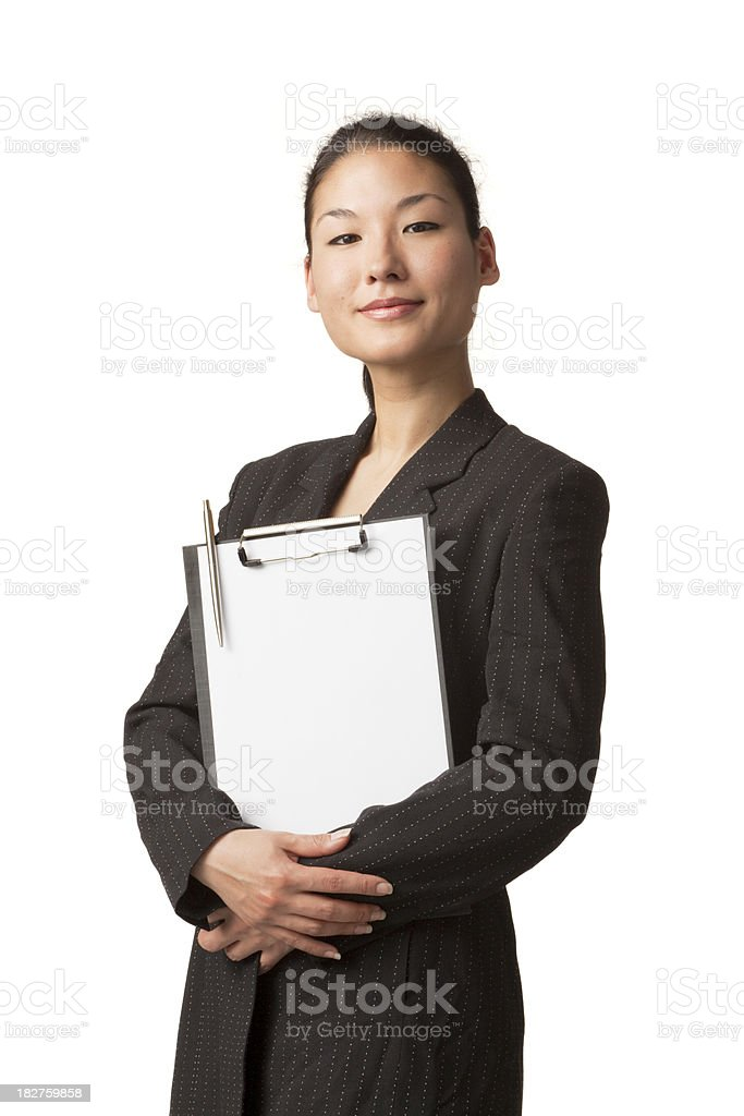 People: Asian Business Woman(1) royalty-free stock photo