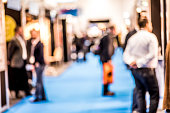 People at a Trade Exhibition