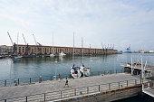 People at Genoa Port