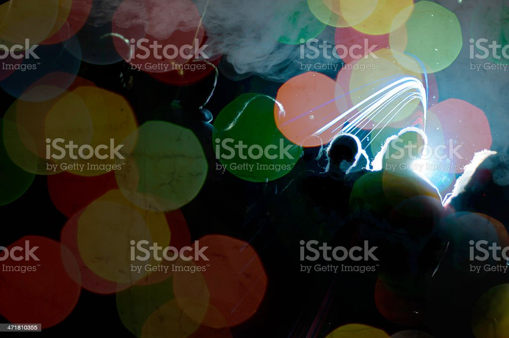 People at party royalty-free stock photo