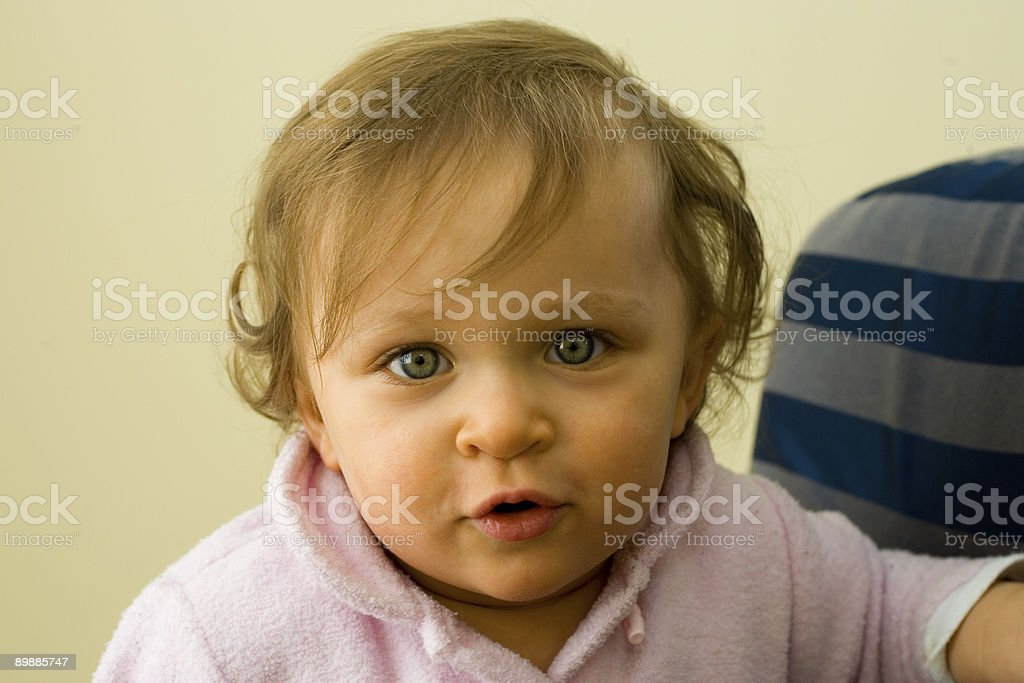 People - Beautiful Toddler stock photo