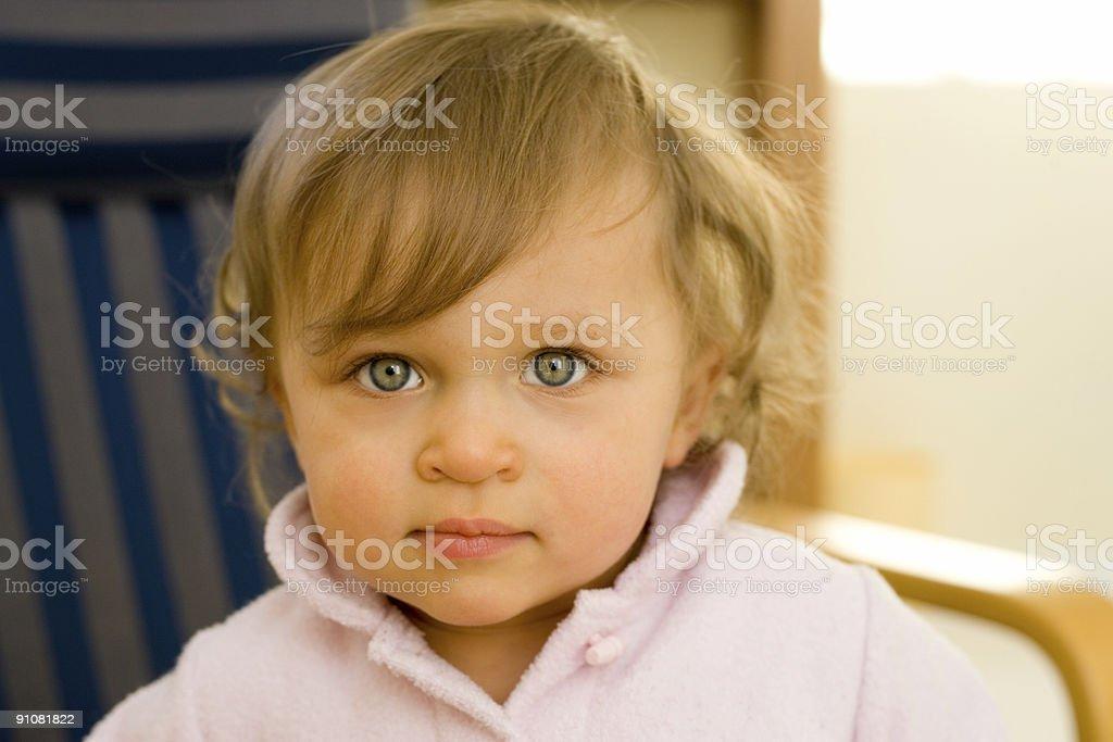 People - Beautiful toddler royalty-free stock photo