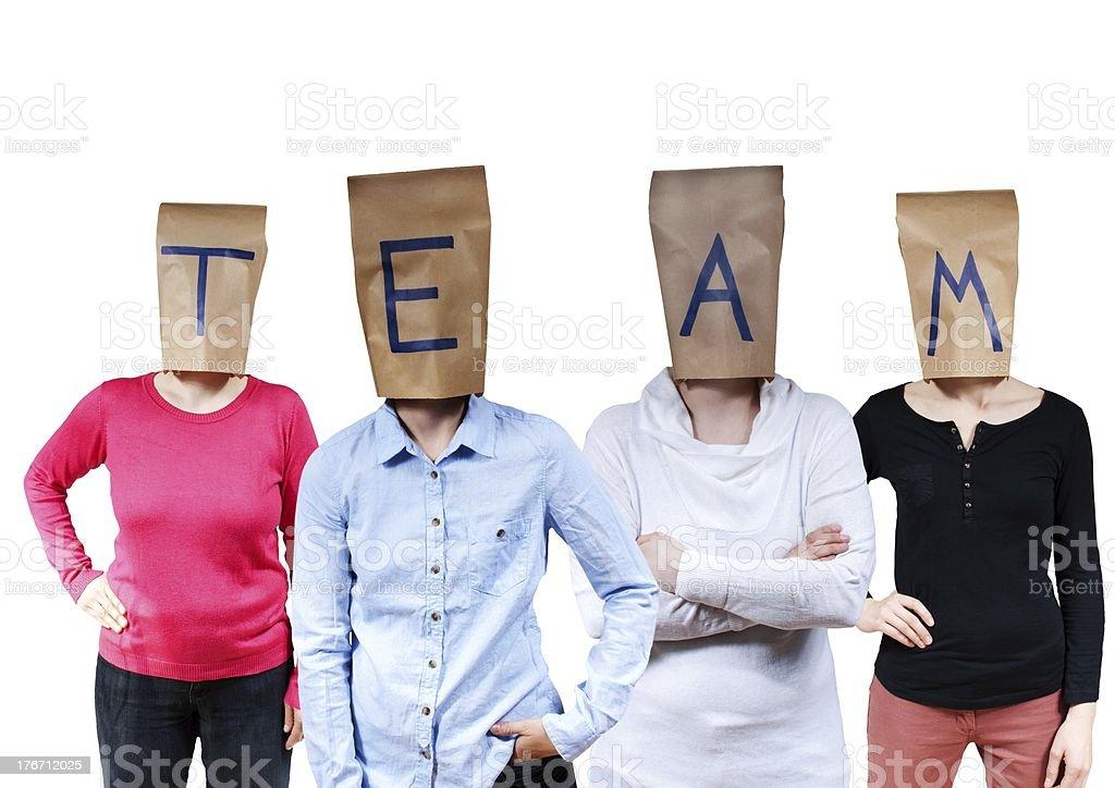 people buldinga team stock photo