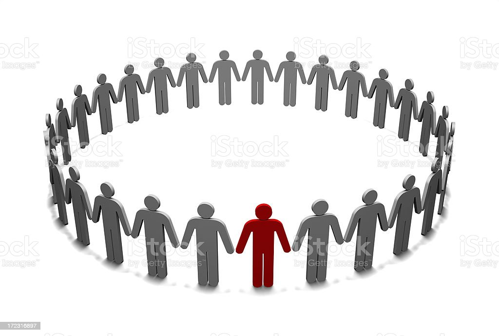 People Cooperation stock photo