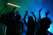 People enjoying the party at a night club