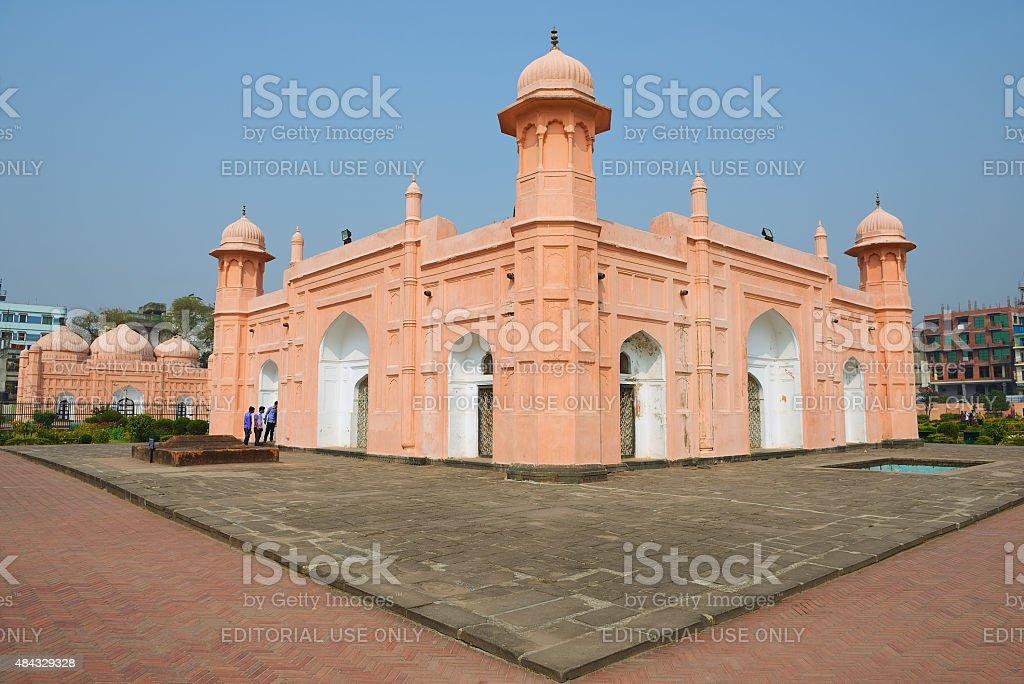 People explore mausoleum of Bibipari in Dhaka, Bangladesh. stock photo
