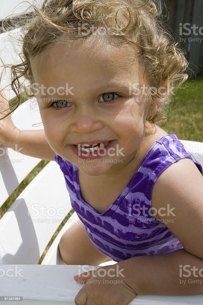 People - Happy Toddler stock photo