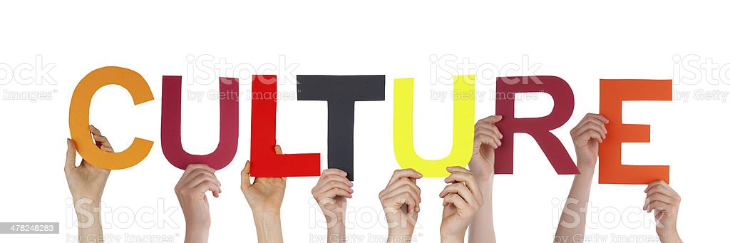 People Holding Culture stock photo