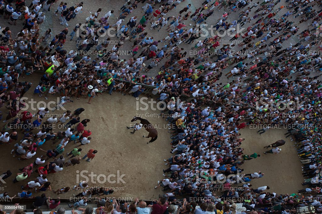People in a circle singing and praising stock photo