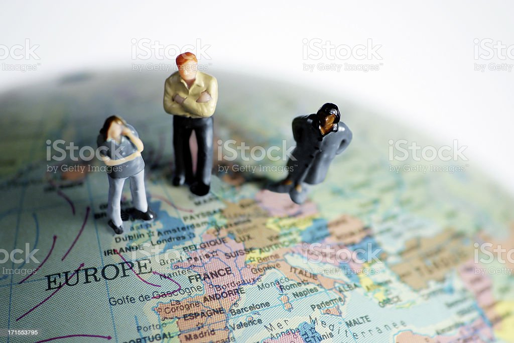People in Europe. royalty-free stock photo
